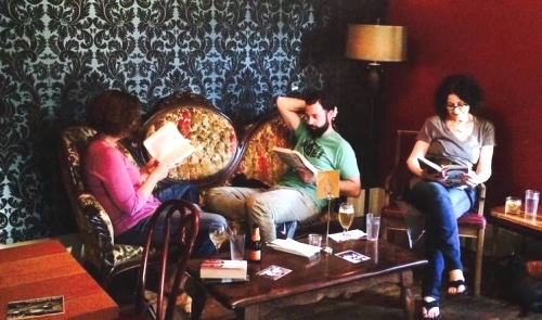 Silent Reading Party in three locations on July 25