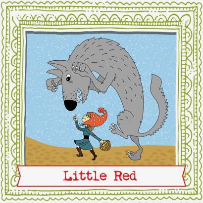 Dorktales presents Little Red at Atherton Library on Aug. 10