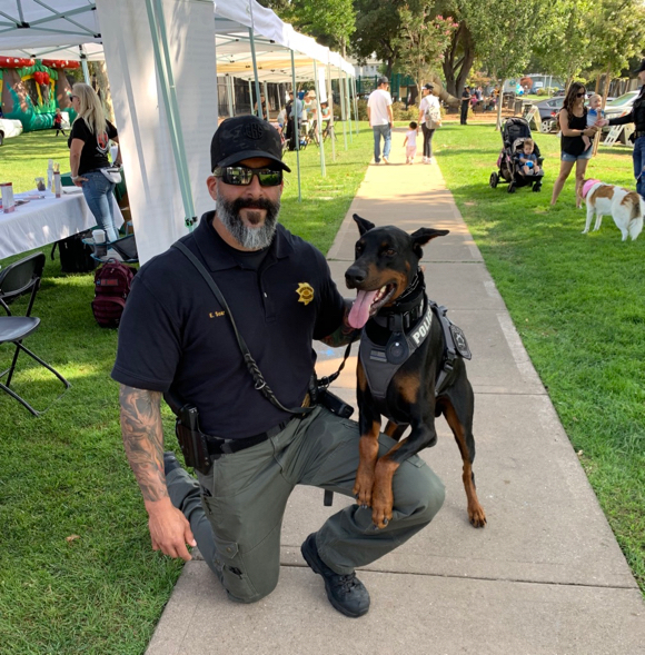 Dogs and people enjoy 4th Annual Paws for Paws in Menlo Park