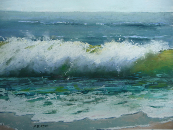 """Seascapes and Landscapes in Pastel"" is featured exhibit at Portola Art Galley in September"