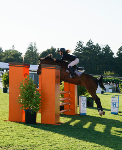 Capturing the fun of the Horse and Hound event at Menlo Charity Horse Show