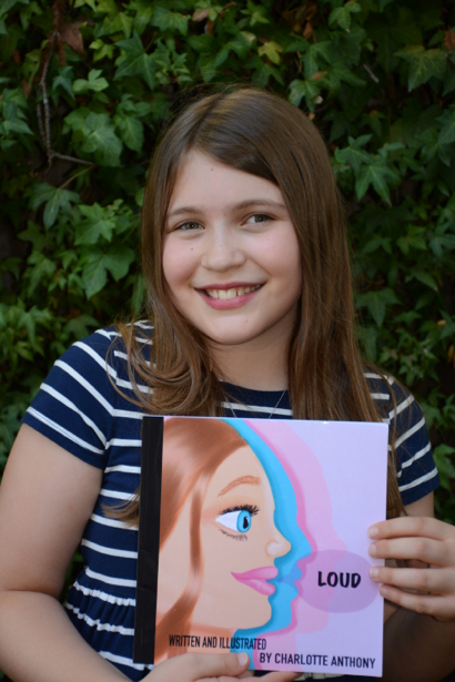Hillview Middle School sixth grader writes and illustrates a children's book