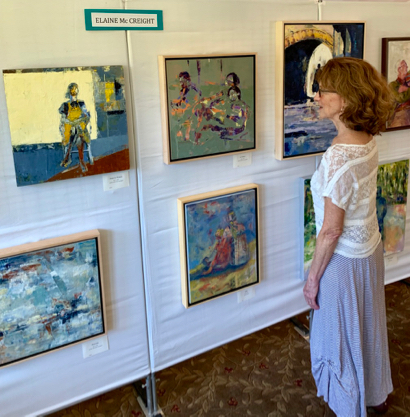 Catching up with artists at the Atherton Arts Foundation exhibit