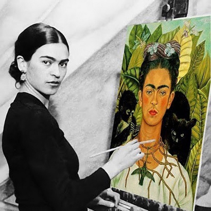 "Kids and teens invited to ""paint like Frida"" on Sept. 9"