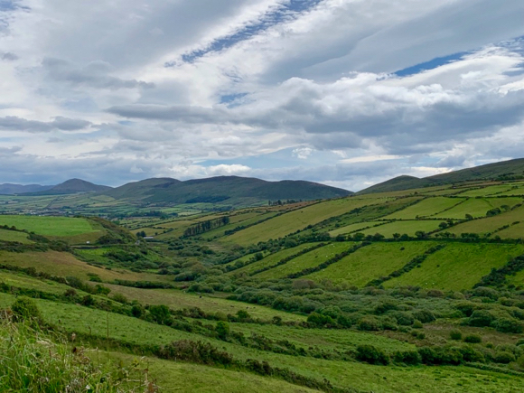 Celebrating 60 with 40 — or is it 400? — shades of green in Ireland
