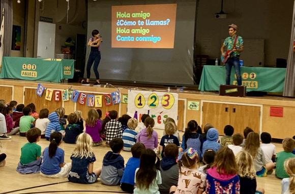 Spotted: Encinal School celebrating Cultural Arts Week