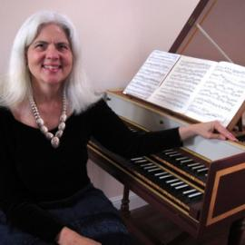 Harpsichordist Elaine Thornburgh appears at St. Bede's on Oct. 13