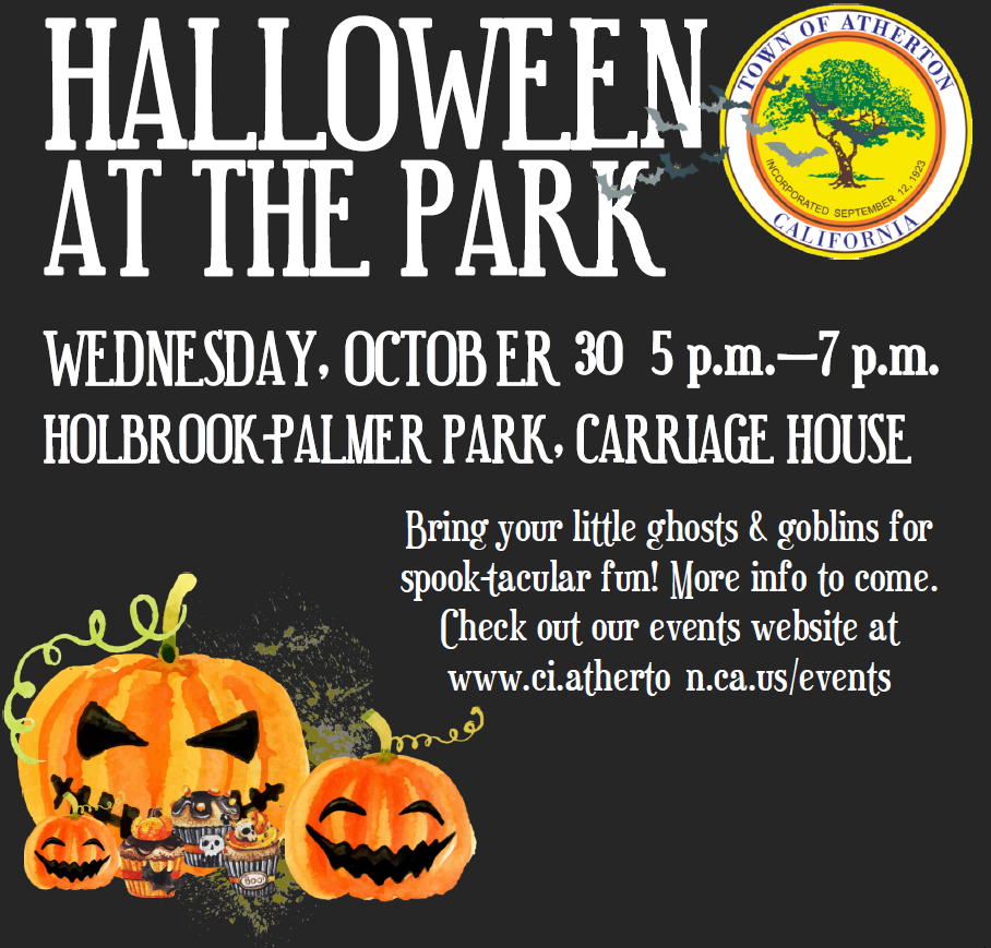 Halloween festivities at Holbrook Palmer Park in Atherton on Oct. 30