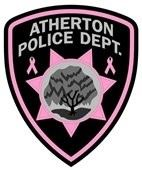 Atherton Police Department offering Pink Patches to support fight against breast cancer