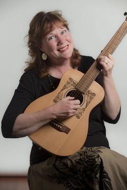 MaryLee Sunseri plays music for preschool kids on Oct. 8
