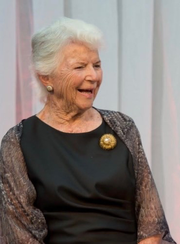 """Arts patron  and philanthropist Mary Margaret """"Moo"""" Anderson passes away at age 92"""