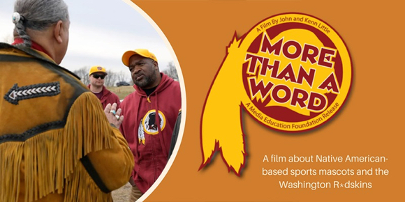 """More Than a Word"": A film about Native American-based mascots screens on Oct. 14"