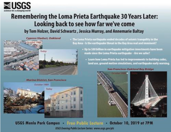 Remembering the Loma Prieta Earthquake 30 Years Later on Oct. 10