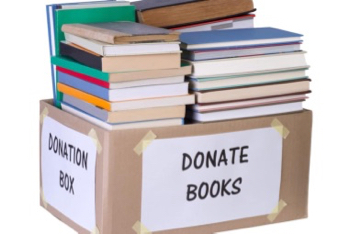 Request for used books for La Entrada Middle School's annual fair