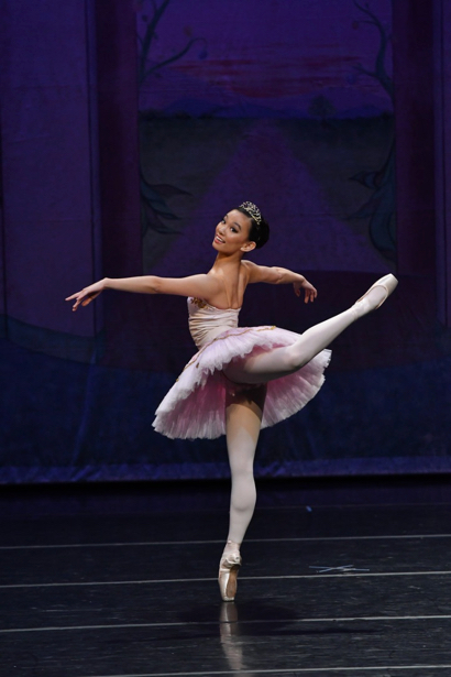 M-A student Antonia Schindler-Ruberg performs in Pacific Ballet Academy's Nutcracker