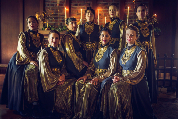 Kitka returns with Wintersongs to St. Bede's on Dec. 8