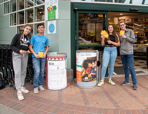 M-A canned food drive in full swing