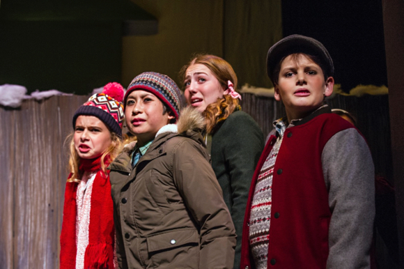 """Local sixth graders star in """"A Christmas Story, The Musical"""" presented by Palo Alto Players"""
