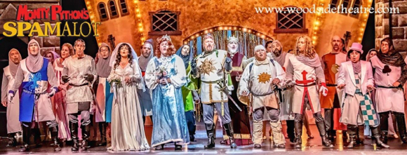 Last chance to see Woodside Community Theatre's production of Monty Python's Spamalot