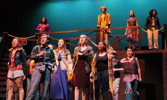 """Menlo-Atherton High School Drama presents Broadway hit """"Urinetown: The Musical"""" over next two weekends"""