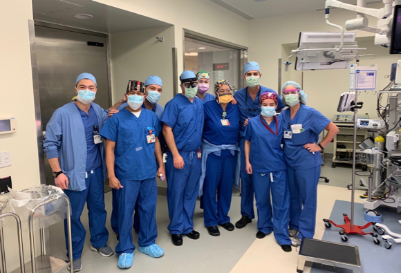 Spotted: Menlo Park doctor performs first surgery at new Stanford hospital