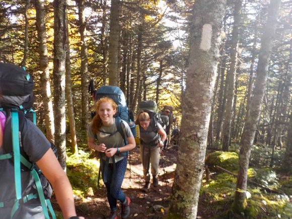 M-A junior Claire Beebe attends Maine Coast Semester at Chewonki