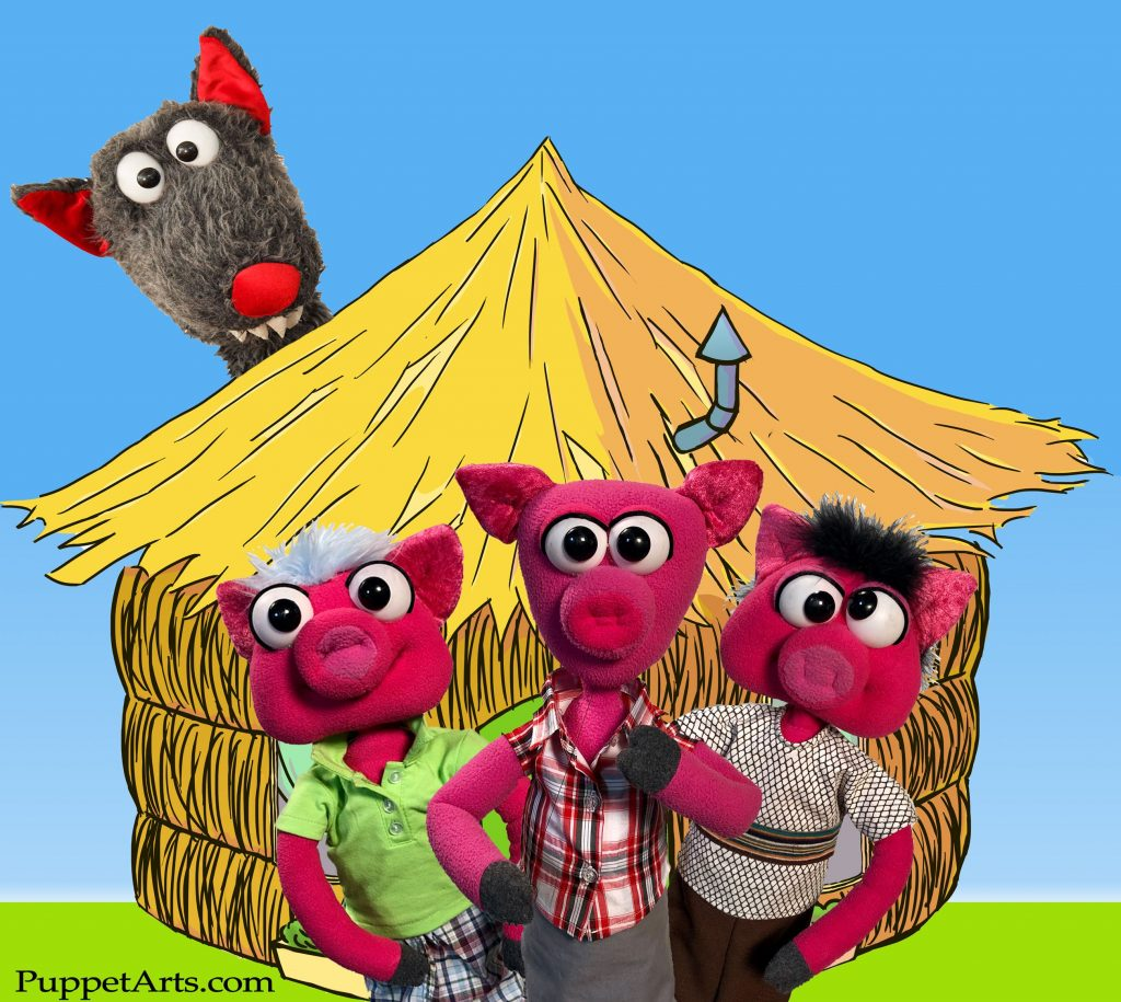 Puppets: Three Little Pigs and the Big Bad Wolf set for Dec. 15