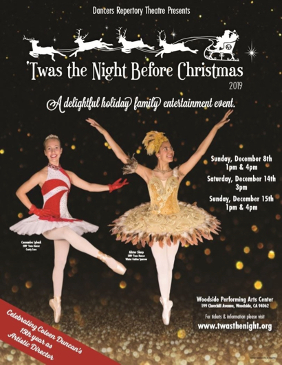 """Twas the Night Before Christmas"" on tap for two weekends in December"