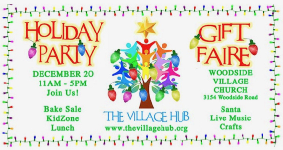 Woodside Village Hub hosts holiday gift faire on Dec. 20