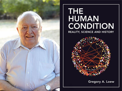 Atherton resident Gregory Lowe talks about his book on Feb. 4