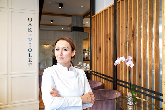 Simona Oliveri draws on Sicilian roots and design talents in role as Executive Chef at Oak+Violet