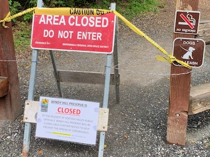 Armed suicidal subject taken into custody at Windy Hill in Portola Valley