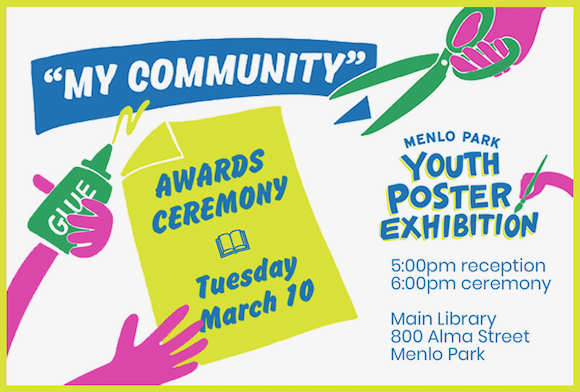 """Awards ceremony  for """"My Community"""" youth poster exhibition on March 10"""