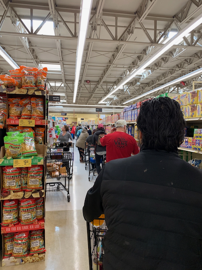 Observations from a shopping trip to Safeway on El Camino Real
