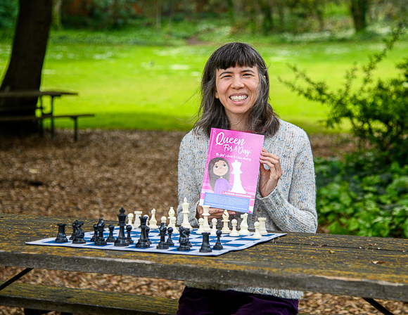 Lauren Goodkind's new book offers girls a path to chess mastery