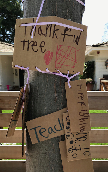 """Spotted: """"Signs-of-the-times"""" #6: Thankful tree"""