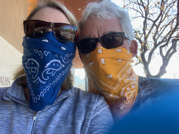 New Bay Area public health recommendation to cover the face when leaving home