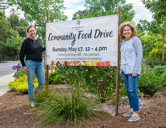 New Community Church in Menlo Park hosting food drive on May 17