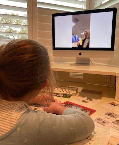 The show must go on: Teaching online Kindergarten at Oak Knoll School in Menlo Park