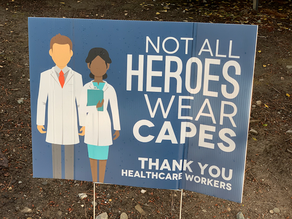 Spotted: Signs-of-the-times: Not All Heroes Wear Capes
