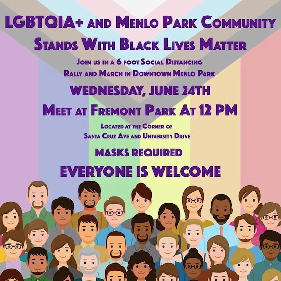 Next community demonstration in support of Black Lives Matter set for June 24