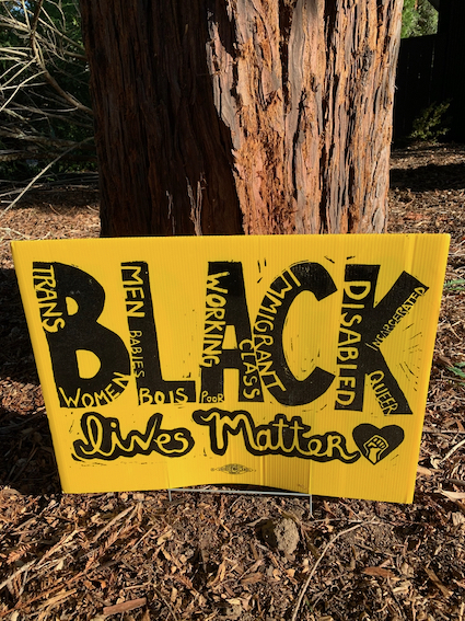 """Spotted: """"Signs-of-the-Times"""" – Black Lives Matter (with multiple messages)"""