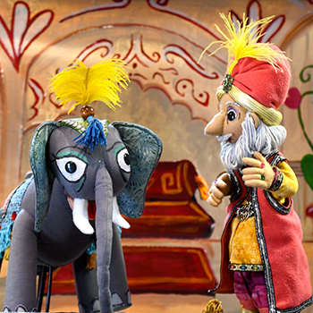 Summer Puppetry Festival: The King's Problem on June 28