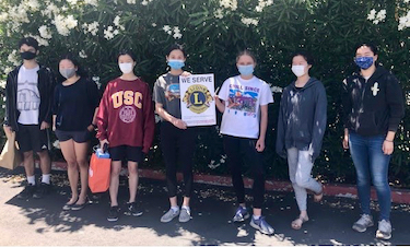 Silicon Valley Cyber Leos Club donates masks to variety of local organizations