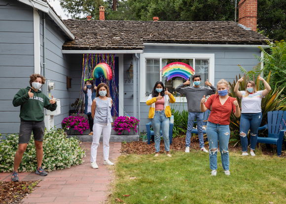 "SafeSpace Youth Action Board comes together to ""Spread the Rainbow"""
