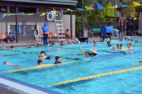 Outdoor exercise activities this summer in Menlo Park