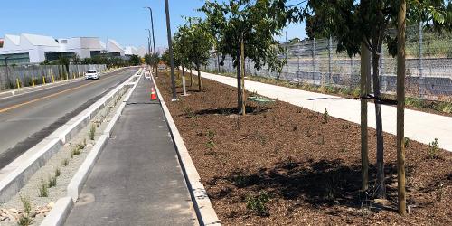 New roadway infrastructure improvements in Menlo Park almost complete