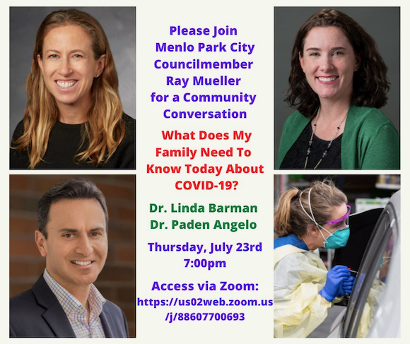 Council member Ray Mueller hosts community conversation on family & COVID-19 on July 23