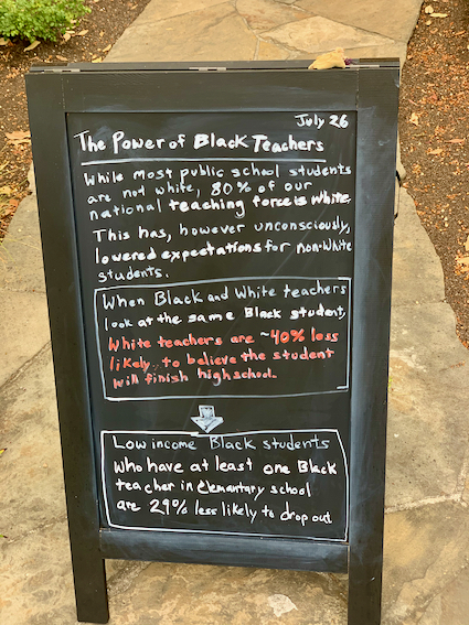 Spotted: Signs-of-the-Times: The Power of Black Teachers
