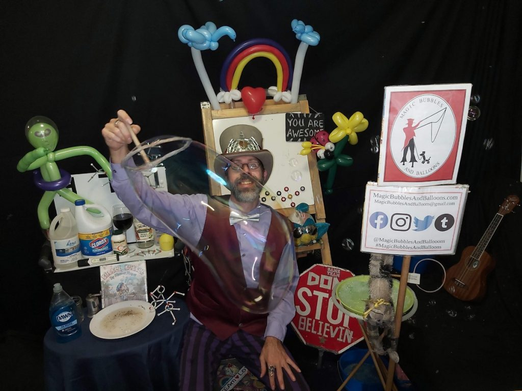 Magic Science Show on July 7